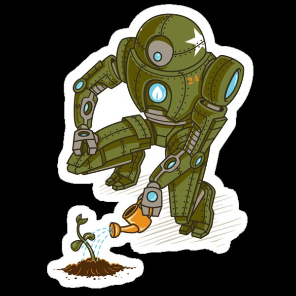 Eco-Robo Unit  #24 by Bamboota