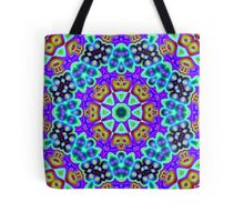 CVD0095 Bent Andor Psychedelic Art Colorful Vivid Tote Bag