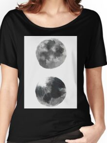 Moons  Women's Relaxed Fit T-Shirt