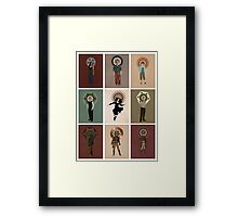 The Saints of Serenity Framed Print