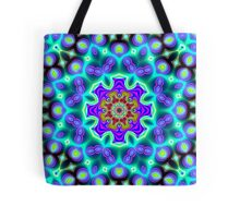CVD0094 Bent Anders Psychedelic Art Colorful Vivid Tote Bag