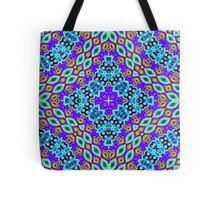 CVD0093 Bent Alvin  Psychedelic Art Colorful Vivid Tote Bag