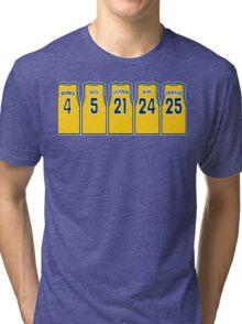 la fab 5: decirle al mundo! Tri-blend T-Shirt