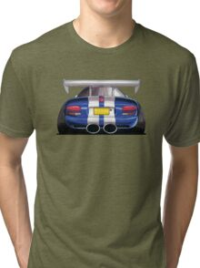 Dodge Viper GTS Rear Caricature Tri-blend T-Shirt