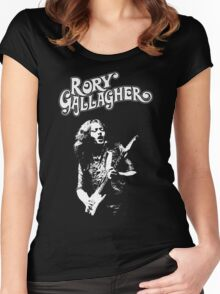 Rory Gallagher Women's Fitted Scoop T-Shirt