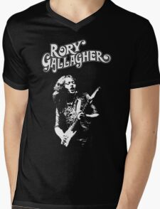 Rory Gallagher Mens V-Neck T-Shirt