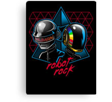 Robot Rock Canvas Print