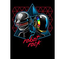 Robot Rock Photographic Print