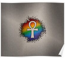 LGBT Egyptian Ankh  Poster