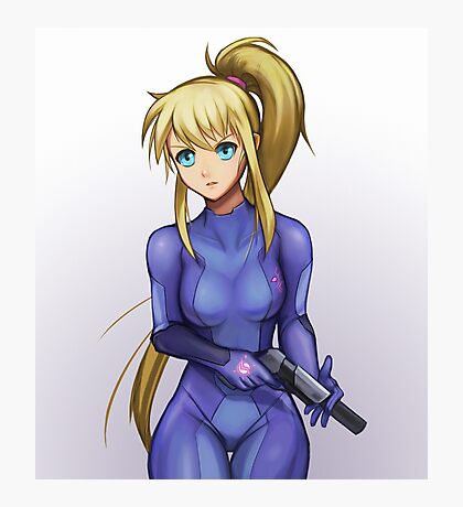 Zero Suit Samus Photographic Print