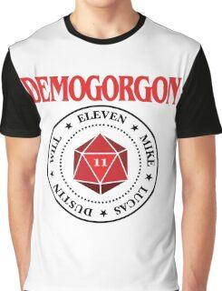 Stranger Things Demogorgon Ramones Graphic T-Shirt