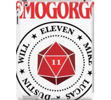Stranger Things Demogorgon Ramones iPad Case/Skin
