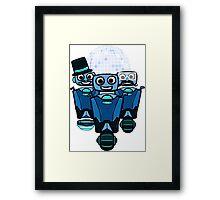 RRDDD Team 1 - Blue Framed Print