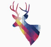 Colourful deer Kids Tee