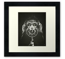 On Air! Framed Print
