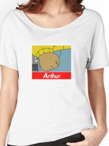 Arthur X Supreme Women's Relaxed Fit T-Shirt