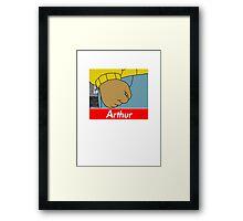 Arthur X Supreme Framed Print