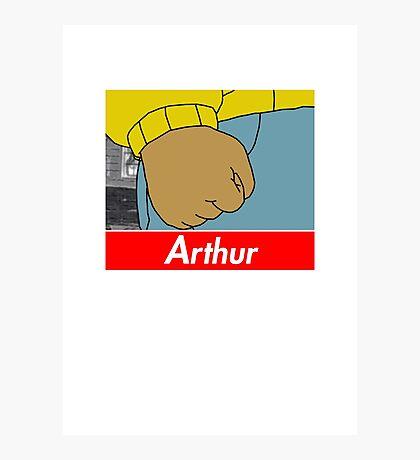 Arthur X Supreme Photographic Print