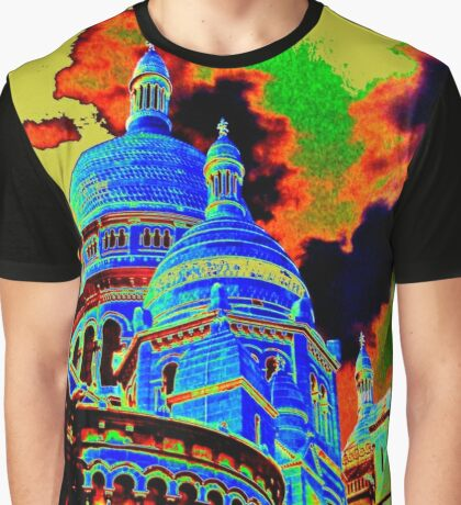Sacre Coeur Graphic T-Shirt