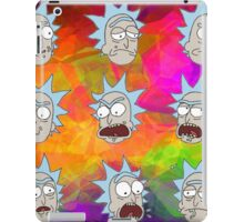 Trippy Psychedelic Rick Sanchez Expressions iPad Case/Skin