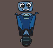 RRDDD Blue Robot Baby Tee