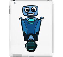 RRDDD Blue Robot iPad Case/Skin