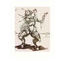 The Goatman Art Print