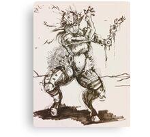 The Goatman Canvas Print