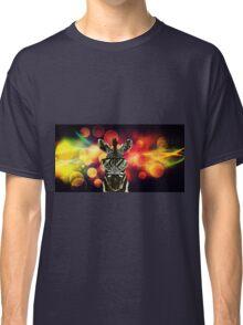 Zebra Bokeh Art Classic T-Shirt