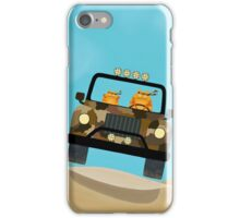 Cats - Camouflage - Off Road iPhone Case/Skin