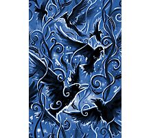 Ravens and Trees Patterns Photographic Print