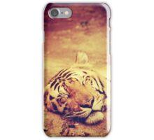 Vintage Tiger iPhone Case/Skin