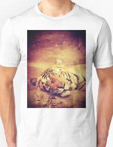 Vintage Tiger Unisex T-Shirt
