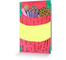 cookie jar Greeting Card