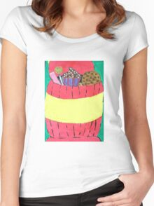 cookie jar Women's Fitted Scoop T-Shirt