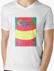 cookie jar Mens V-Neck T-Shirt