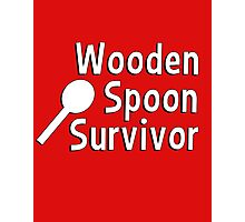 Wooden spoon survivor Photographic Print