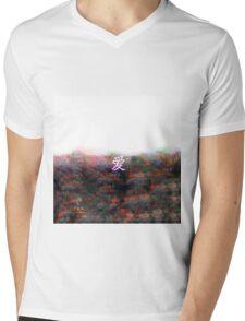 爱-Love Aesthetic Emotion 04 Mens V-Neck T-Shirt