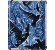 Ravens and Trees Patterns iPad Case/Skin