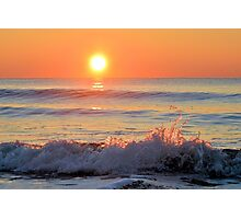 We Danced Like A Wave On The Ocean Photographic Print