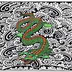 Dragon with patterns by Seymour  Art