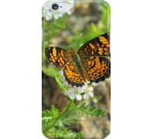 Take time to smell the flowers iPhone Case/Skin