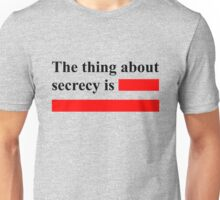 Secrecy Unisex T-Shirt