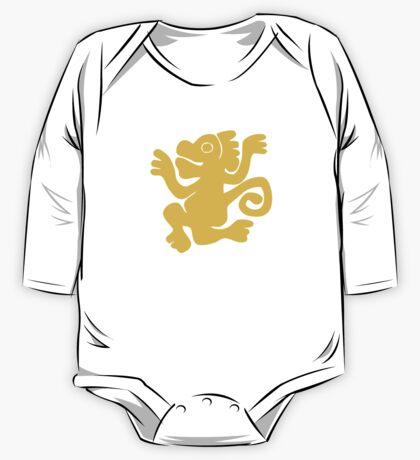 Green Monkeys - Legends of the Hidden Temple Shirt One Piece - Long Sleeve