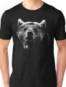 bear black shirt Unisex T-Shirt