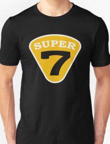 SUPER 7 Badge Cutout Number Unisex T-Shirt
