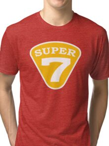 SUPER 7 Badge Tri-blend T-Shirt