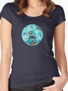 Snow owl Women's Fitted Scoop T-Shirt