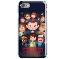Stranger Things Cartoon iPhone Case/Skin