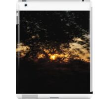 Drive By Sunset iPad Case/Skin